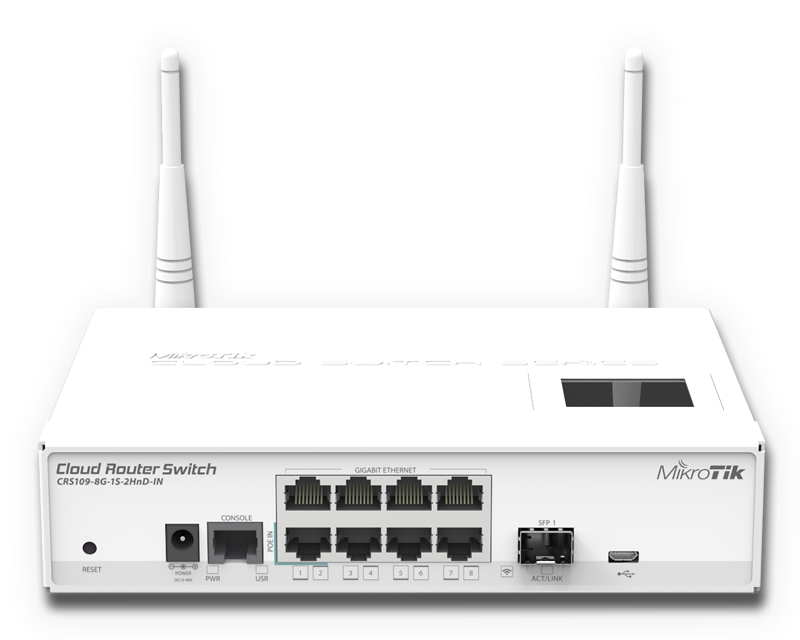 New Product Mikrotik Cloud Router Switch 109 8g Linitx Blog